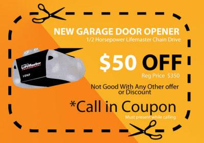 New garage door opener